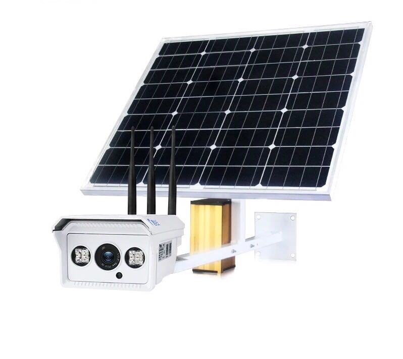 4G Security Camera with solar panel